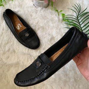 Coach • Black Loafers